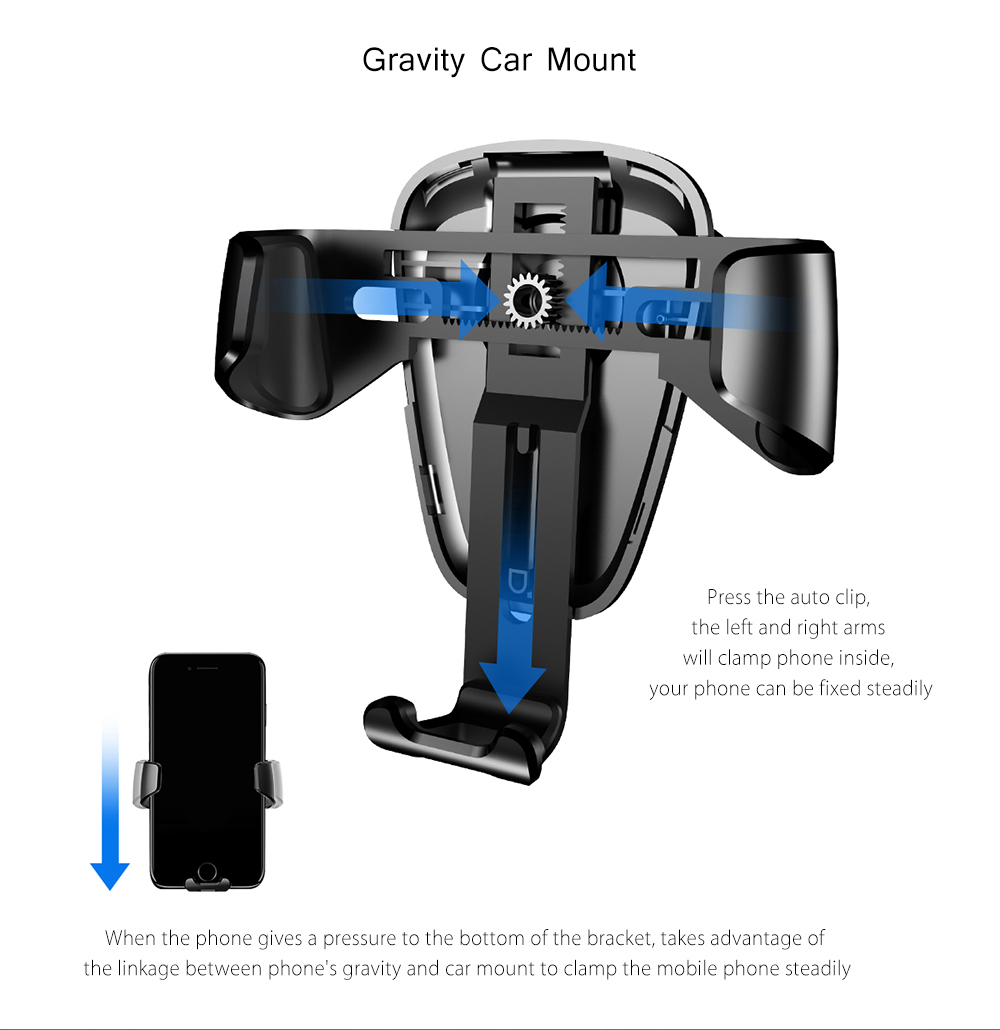 Baseus Gravity Car mount Holder